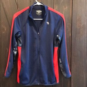 OshKosh B'gosh navy sweater jacket size 14